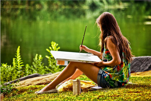 art-girl-lake-nature-painting-Favim.com-110436